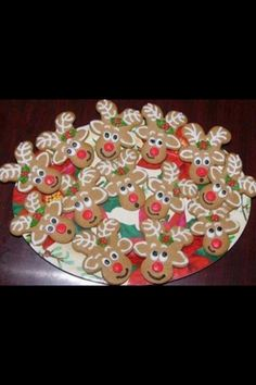 Christma cookie idea!
