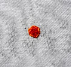 Do you remember this Raised Rose stitch that I used in my Sampler Tree embroidery ? I have had a few requests for a tutorial so, in t...