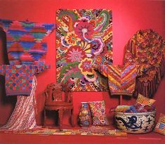 kaffe fassett needlepoint and knits