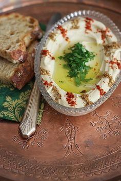 Perfect Hummus by Olga Irez of Delicious Istanbul  *Using Fresh Chickpeas*