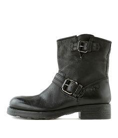 OXS   Biker Boot 1189 Black Women   Rossi&Co #women #fashion #boots #oxs #italian #madeinitaly #bootsforwomen #designer #brown #leather #love #online #sale #present #ideas #gift #girlfriend #cognac #cool #outlet #ankleboots #heels #rossiundco #black #biker #bikerboots