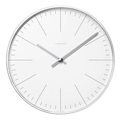 Max Bill Wall Clock by Junghans, no numbers