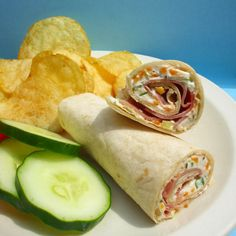 BabyZone: Budget Baby Shower Recipes  | Ham and Cheese Ranch Rollups