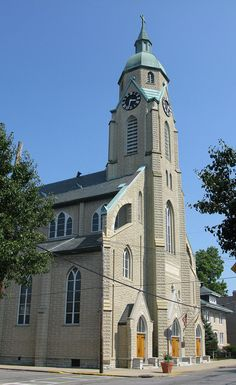 Sacred Heart Church in Campbell County, Kentucky.