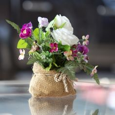 Great tip on how to make cut flowers last twice as long!