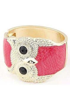 Drip the owl bracelet