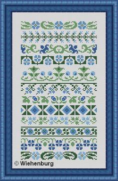 borduurranden cross stitch
