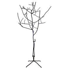 Metal Tree Sculpture/ coat rack