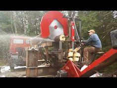 Firewood Processor, Firewood Logs, Log Splitter, Homemade Modern, Wood Cutting, Homesteading, Alaska, Woodworking, Make It Yourself