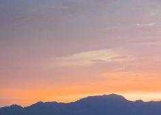 Sunset - Essex Rest Area - California