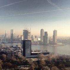 Rotterdam skyline the Netherlands