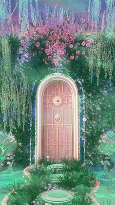 Nature Aesthetic, Fantasy Landscape, Fantasy Art Landscapes, Retro Futurism, Fantasy World, Fantasy Places, Aesthetic Pictures, Aesthetic Wallpapers, Surrealism