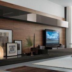contemporary media storage by Dayoris Custom Woodwork