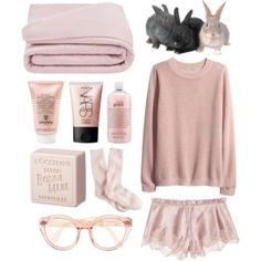 Blush in Bed polyvore