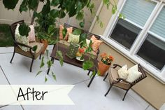 New Patio Furniture #decorating #homedecor #patio
