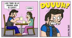 Mientras toman el café...