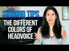 Freya's Singing Tips: Different Colors of HEAD VOICE - YouTube