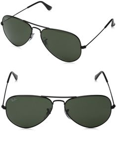 RAY-BAN AVIATOR RB3025 LARGE METAL AVIATOR SUNGLASSES----------- Colors Available: BLACK, Gold Frame, Brushed Bronze, Purple,Orange, Blue,Red------ Metal frame------ Glasses lens------ Non-Polarized--------  Best Sunglasses for your face shape------- Cool,Vintage and Designer------- Great Sunglasses wearable for men and women during Summer/Spring 2016--------