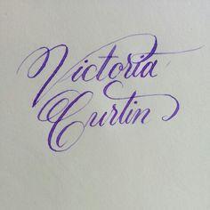 Victoria Curtin. Copperplate.