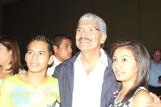 Norman Quijano presentando sus propuestas para los deportistas de nuestro país.