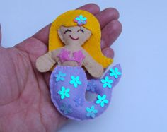 Little  mermaid doll  by MoliArtes
