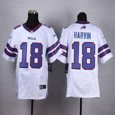 Cheap NFL Jerseys Sale - http://www.xjersey.com/nike-bills-18-percy-harvin-white-elite ...
