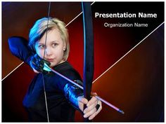 Bow and Arrows Powerpoint Template is one of the best PowerPoint templates by EditableTemplates.com. #EditableTemplates #PowerPoint #Arrow #Soldier #Archer #Bow And Arrows #Aiming #Concentration #Historicing #Lifestyles #Sports Tournament #Archery #Bowman #Crossbow #Focus #Beautiful #Target Shooting #Female #Women #Bow #Sport #Warrior #Armour #Weapon #Pretty Bowgirl