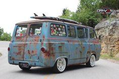 rat rod trucks and cars Vintage Vans, Vintage Trucks, Old Trucks, Dually Trucks, Dodge Trucks, Pickup Trucks, Truck Drivers, Semi Trucks, Lifted Trucks