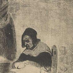 Lezende vrouw, Petrus Marius Molijn, 1829 - 1849 - poezen-Verzameld werk van kat - Alle Rijksstudio's - Rijksstudio - Rijksmuseum