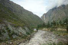 Urubamba-river, Sacred Valley, Peru.