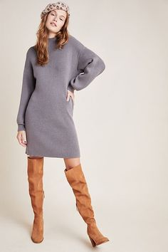 Alder Mock Neck Sweater Dress
