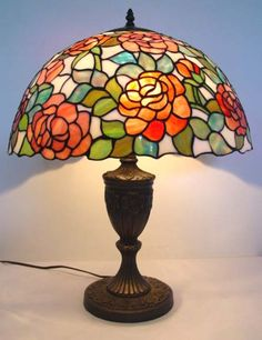 Tiffany Lamp (definetely getting one of these someday) :)
