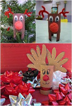 wc papír gurigából kreatív karácsonyi ötletek - Google keresés