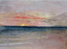 <3 Joseph Mallord William Turner - Sunset
