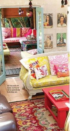 Frida Kahlo room In Decor - tuis..Yes please I can move in tomorrow.