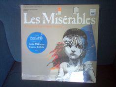 Extremely Rare 1985 UNOPENED vinyl album Les Miserables original London cast