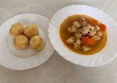 Gulyásleves házi pogácsával   fabryneaniko receptje - Cookpad receptek