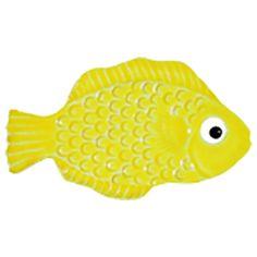 """Mini Tropical Fish Yellow 4"""""""