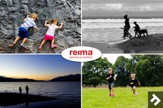 I'm really proud to be working with a Finnish brand called Reima and supporting their quest to get kids active. When I read the brief, I couldn't think of a better match to my blog.