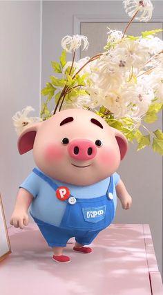 This Little Piggy, Little Pigs, Happy Birthday Pig, Cute Pigs, Miniature Dolls, Princess Peach, Hello Kitty, Pig Pig, Piglets