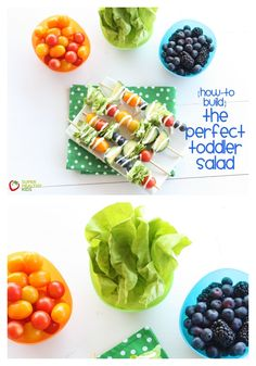 How to Build the Perfect Toddler Salad.  www.superhealthykids.com