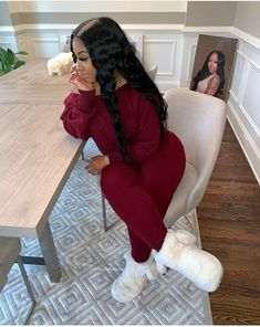 Chill Outfits, Cute Swag Outfits, Dope Outfits, Trendy Outfits, Fashion Killa, Girl Fashion, Fashion Outfits, Fall Winter Outfits, Swagg