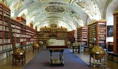 Enormous Beauty of Czech Republic - Theological hall of famous baroque library at Strahov Prague World's Most Beautiful, Beautiful Places, Places Around The World, Around The Worlds, Beautiful Library, Prague Travel, Prague Czech Republic, Prague Castle, Baroque