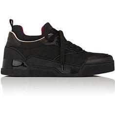 f5c3383a747c Christian Louboutin Men s Aurelien Flat Sneakers (2.906.495 COP) ❤ liked on  Polyvore