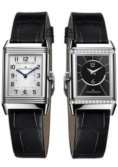 Everlasting, iconic watches for women from Bulgari, Chanel, Patek Philippe, Hermès and Jaeger-LeCoultre. Jaeger Lecoultre Reverso, Jaeger Lecoultre Watches, Jeager Le Coultre, Brighton Jewelry, Luxury Watches For Men, Jewelry Armoire, Cool Watches, Dream Watches, Wrist Watches