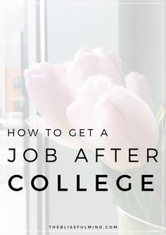 For any recent grads who are struggling to find a job, check out this guide that helped me get a job within a month of graduation! Includes resume and cover letter templates, as well as a worksheet to guide you through the process.