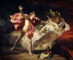 Jean Raoux, Orpheus and Eurydice, Oil on Canvas, 1709 - Buscar con Google