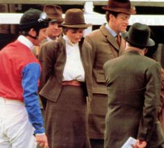 March 13, 1981: Prince Charles with his fiance, Lady Diana Spencer at Sandown Park Racecourse, Surrey.