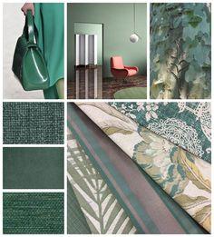 WINTER 2017 COLOUR TRENDS | Warwick Fabrics Pantone Greenery, Warwick Fabrics, Winter Colors, Lush Green, Pantone Color, Winter 2017, Color Trends, Tropical, Colours
