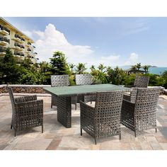 Zuo Modern 703515 Pinery Outdoor Dining Table at Lowe's Canada